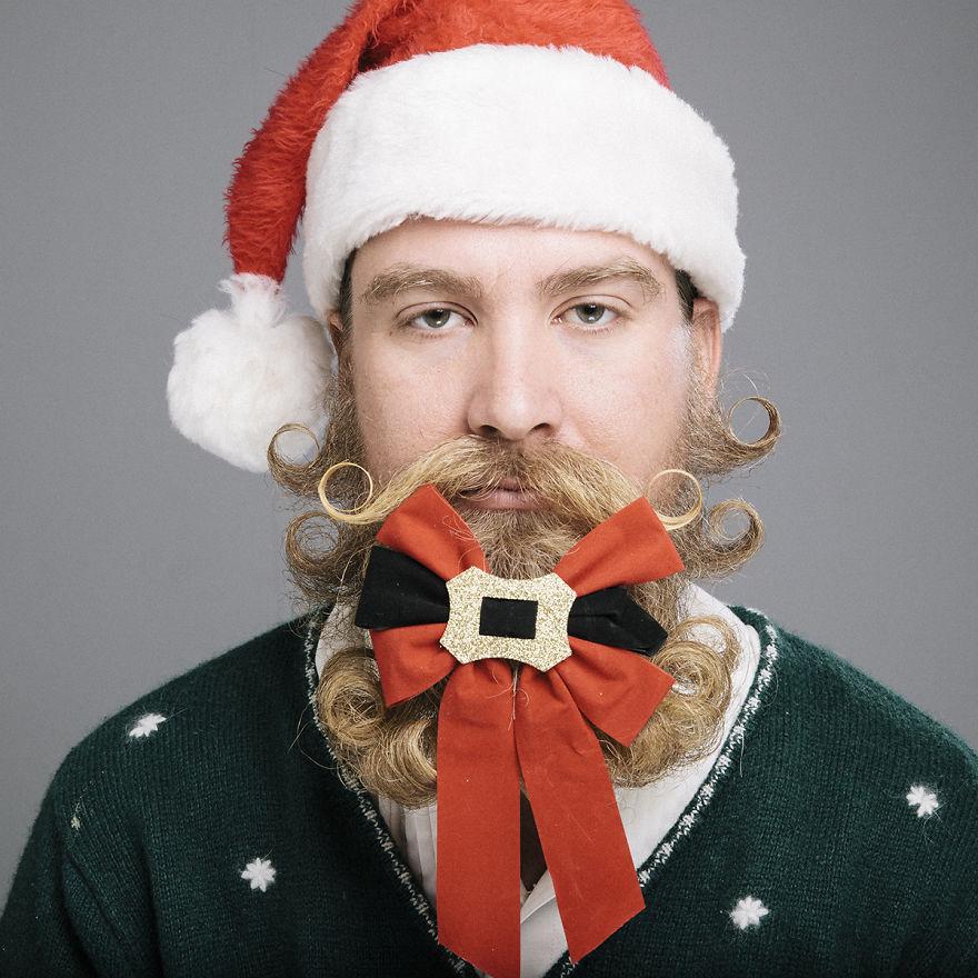 The Twelve Beards Of Christmas | Bored Panda