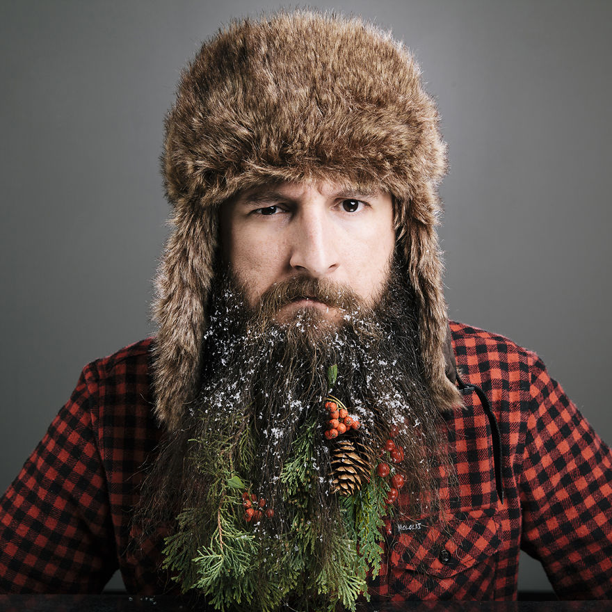21 Awesome Beards Decorated For Christmas | Playbuzz