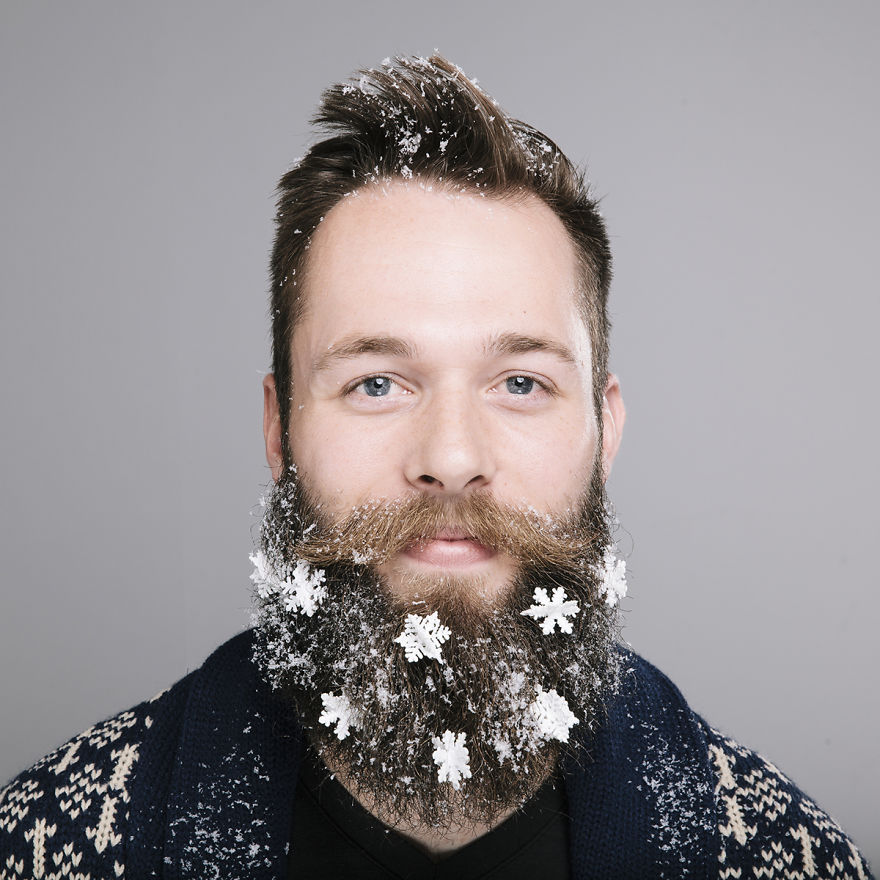 anyone can write on bored pandastart writing - Christmas Beard