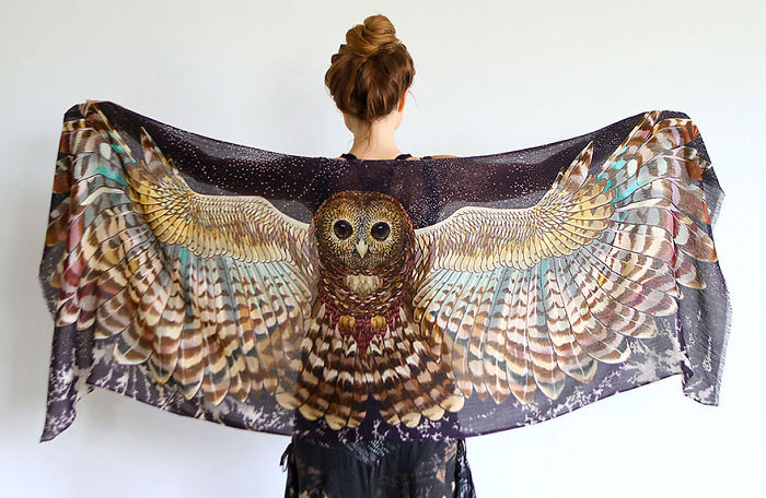 Bird Scarves That Give You Wings