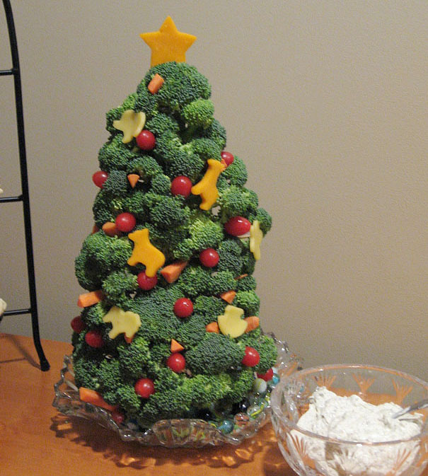 Broccoli Christmas Tree