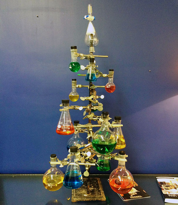 The Mad Scientist Christmas Tree