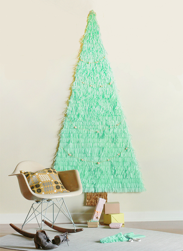 Tissue Paper Christmas Tree