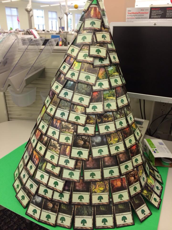 Magic The Gathering Card Game Christmas Tree