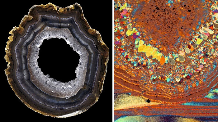 Agate: Stunning Microscapes In A Lovely Stone