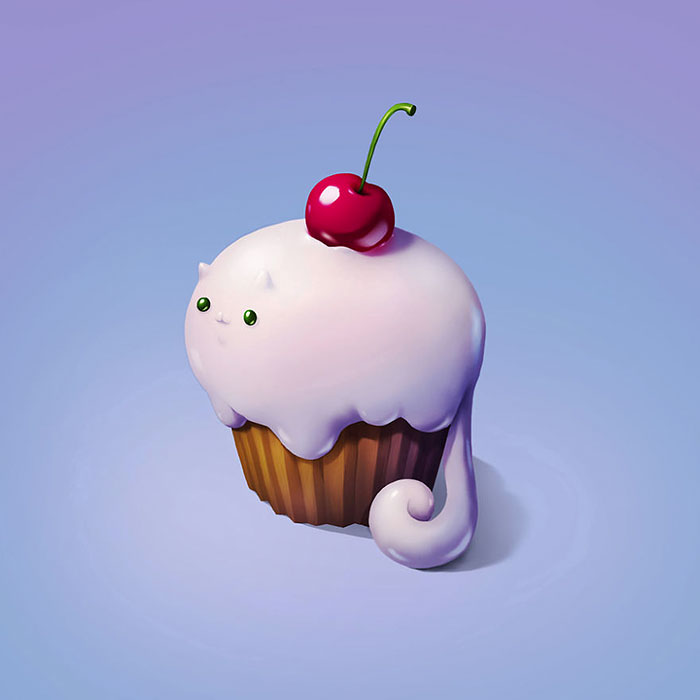 Art Snacks: Illustrations Of Delicious Foods Reimagined As Adorable Animals
