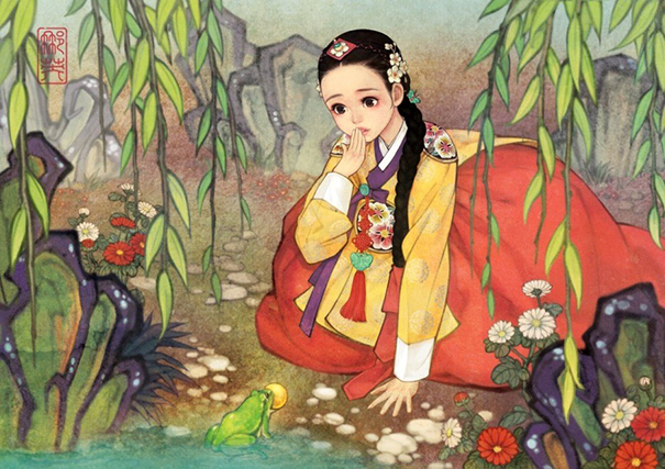 asian-korean-disney-remake-illustration-na-young-wu-5