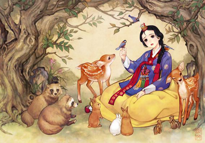 Iconic Western Fairytales Get An Eastern Makeover By Korean Artist