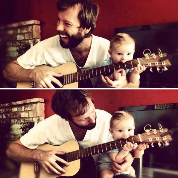 Letting Your Child Be A Guitar Capo
