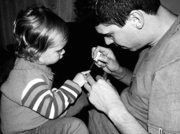 Phát hờn với những bé có ông bố đáng yêu nhất mọi thời đại