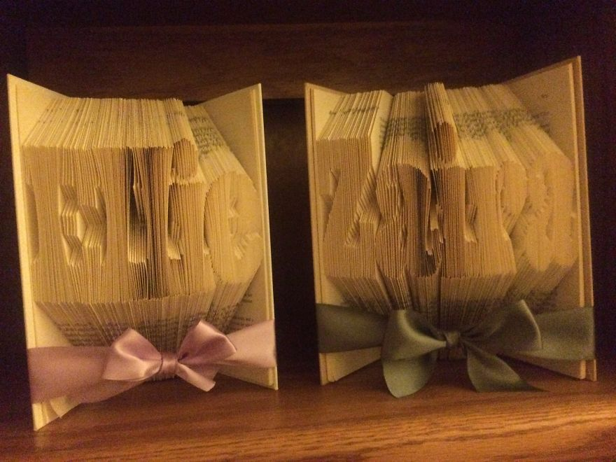 Ellie And Zaira Book Folding Created By Marlene Marques
