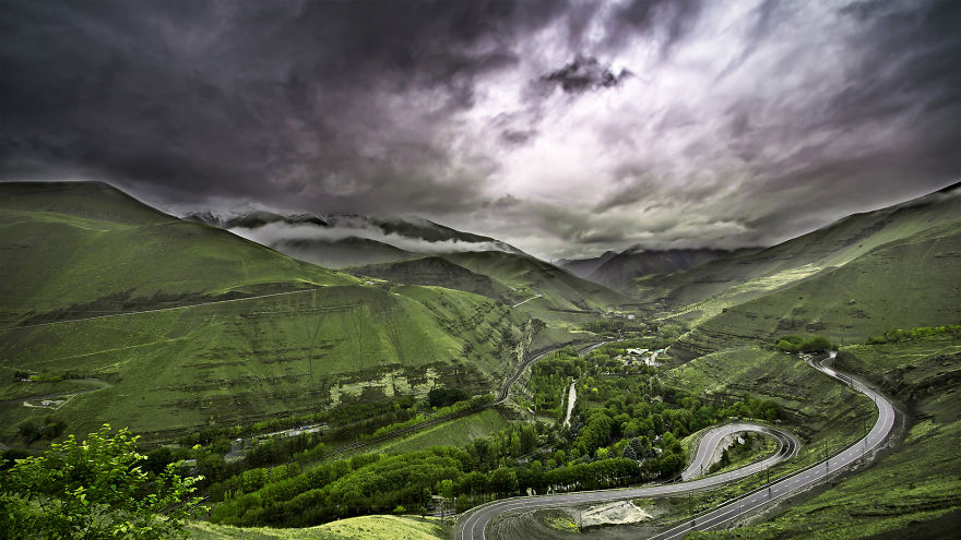 Chalus Road, Iran