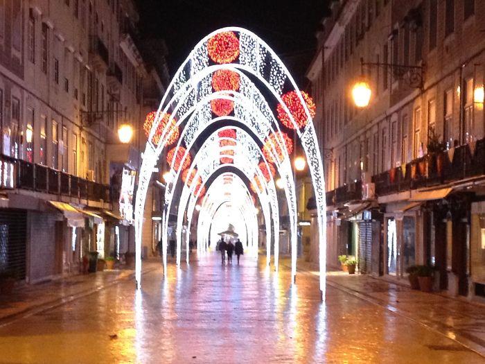Christmas In Lisbon, Portugal 2013
