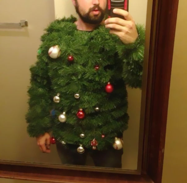 The 'I Am A Christmas Tree' Ugly Christmas Sweater