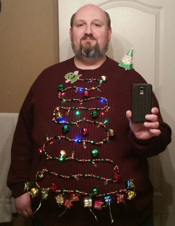 Garland Ugly Christmas Sweater