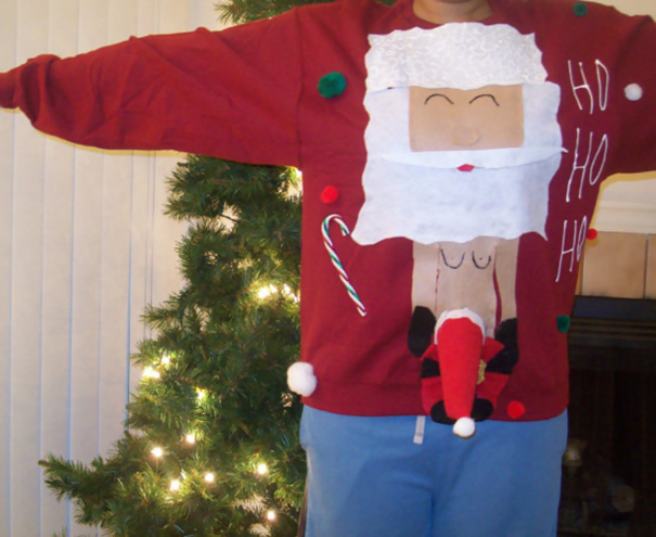 Christmas Tree Ugly Sweater Diy.37 Of The Most Creative Ugly Christmas Sweaters Bored Panda