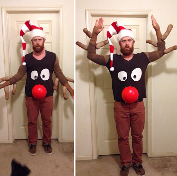 13+ Of The Most Creative Ugly Christmas Sweaters | Bored Panda