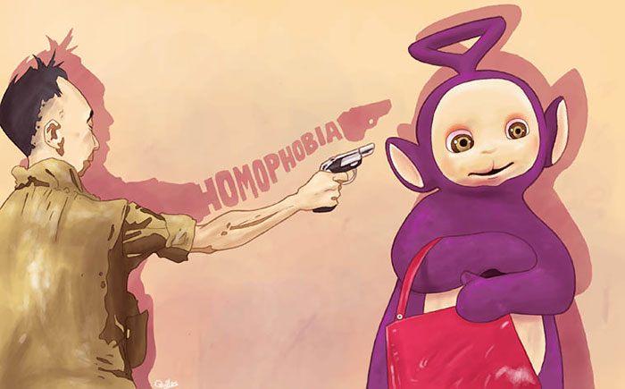 Controversial Illustrations By Spanish Artist Mirror The Ugly Side Of Society