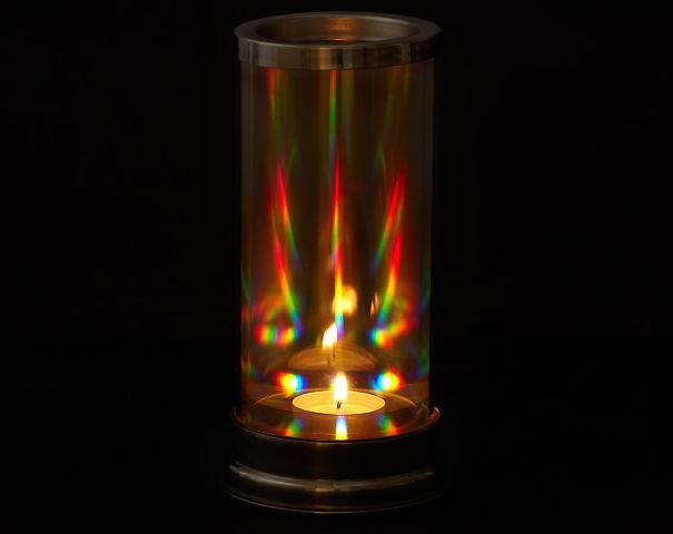 Rainbow Light Candle