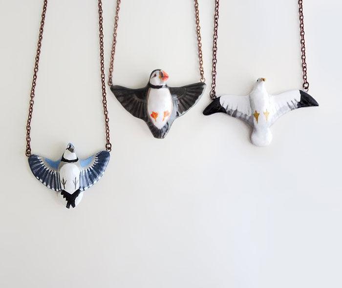 Birds Necklaces
