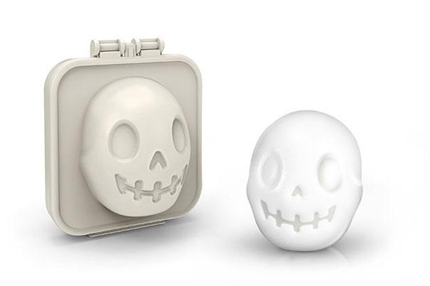 Skull Shaped Boiled Egg Mold