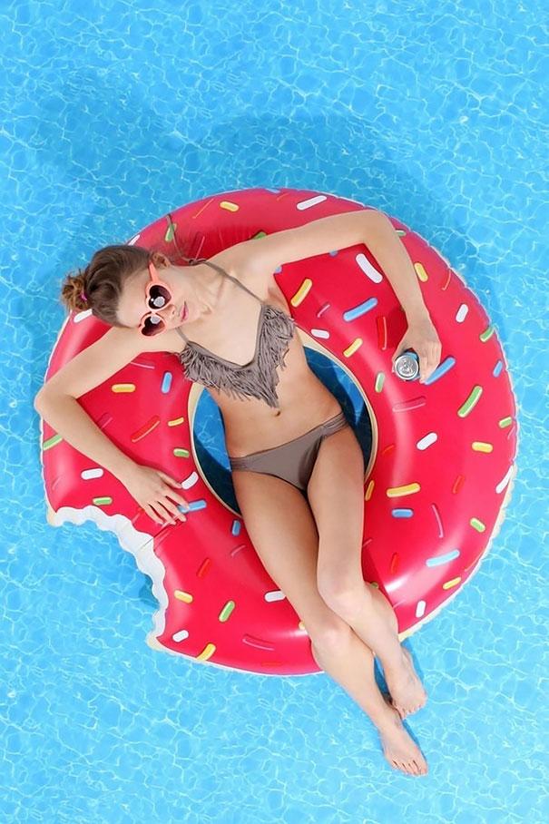 Food Pool Float