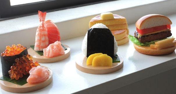 Food Smartphone Stands