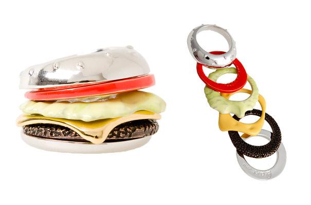 Burger Stack Ring