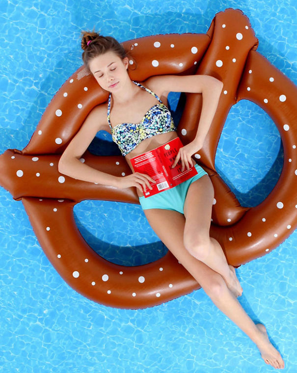 Food Pool Float