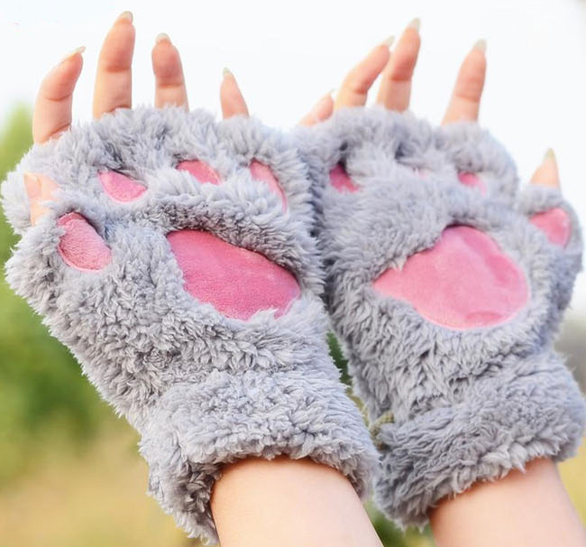 Cat Paws Mittens