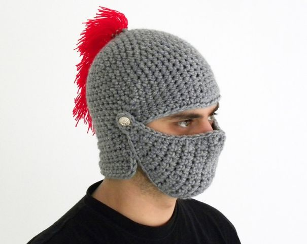 ... best cheap 1784d dff6c Knight Helmet Hat  pretty nice df0a5 b3dd1 Cool  Winter ... d6b0fd8fbfc