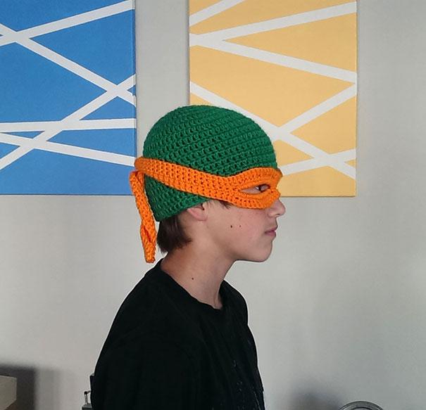 Michelangelo - Teenage Mutant Ninja Turtle Hat