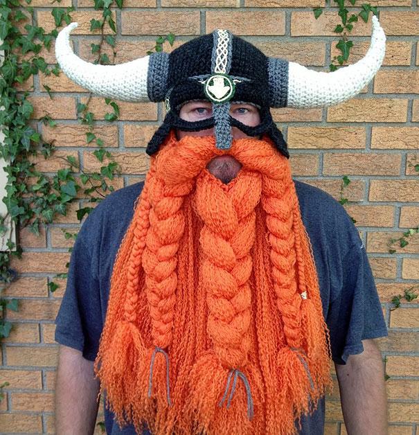 Crochet Viking Hat : Viking Helmet