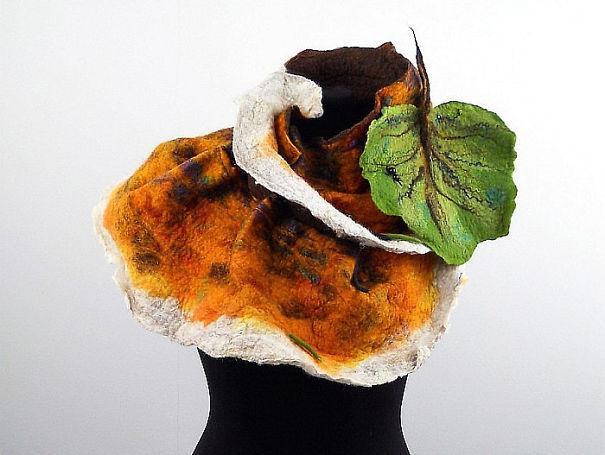 Mushroom Cap Scarf