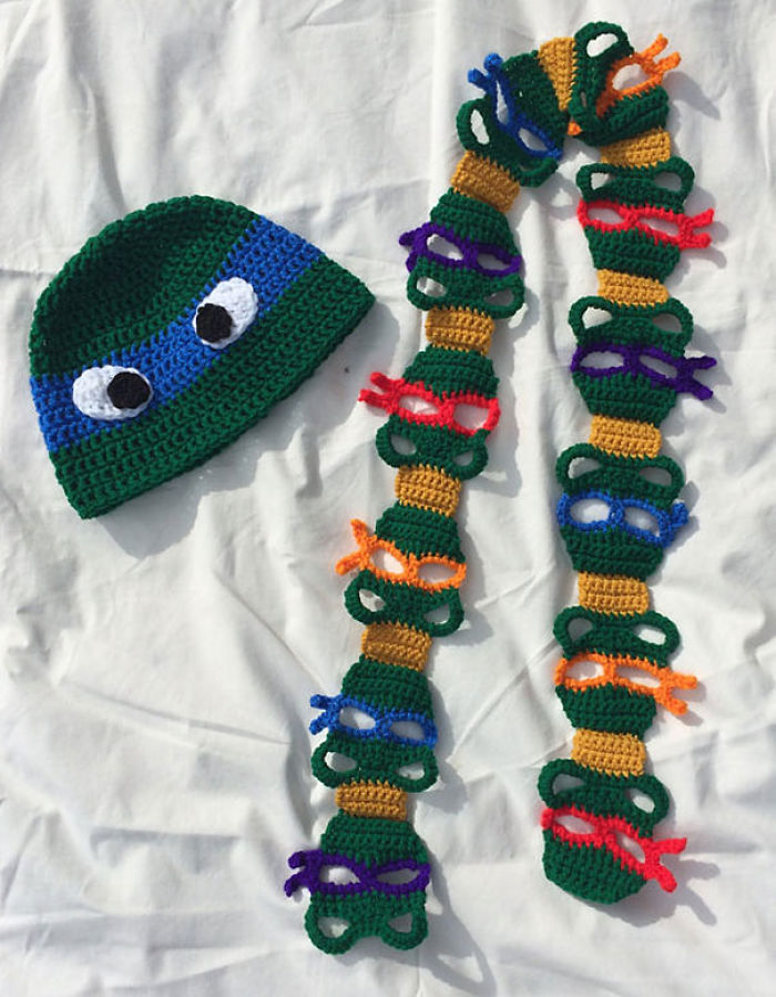 Ninja Turtles Scarf