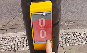 Crosswalk That Lets You Play Pong With A Stranger On The Other Side Installed In Germany