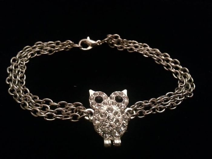 Cute And Shiny Baby Owl From Faerie Tale Jewellery