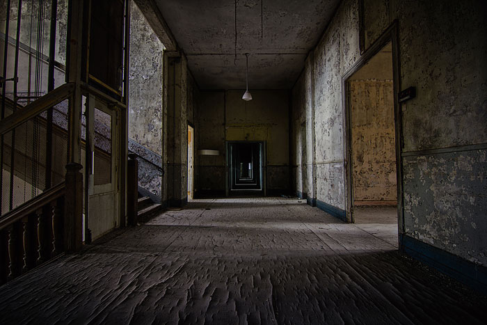 My Photography Series About Dark Decayed Rooms