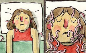 Illustrator Turns People's Deepest And Darkest Fears Into Comics