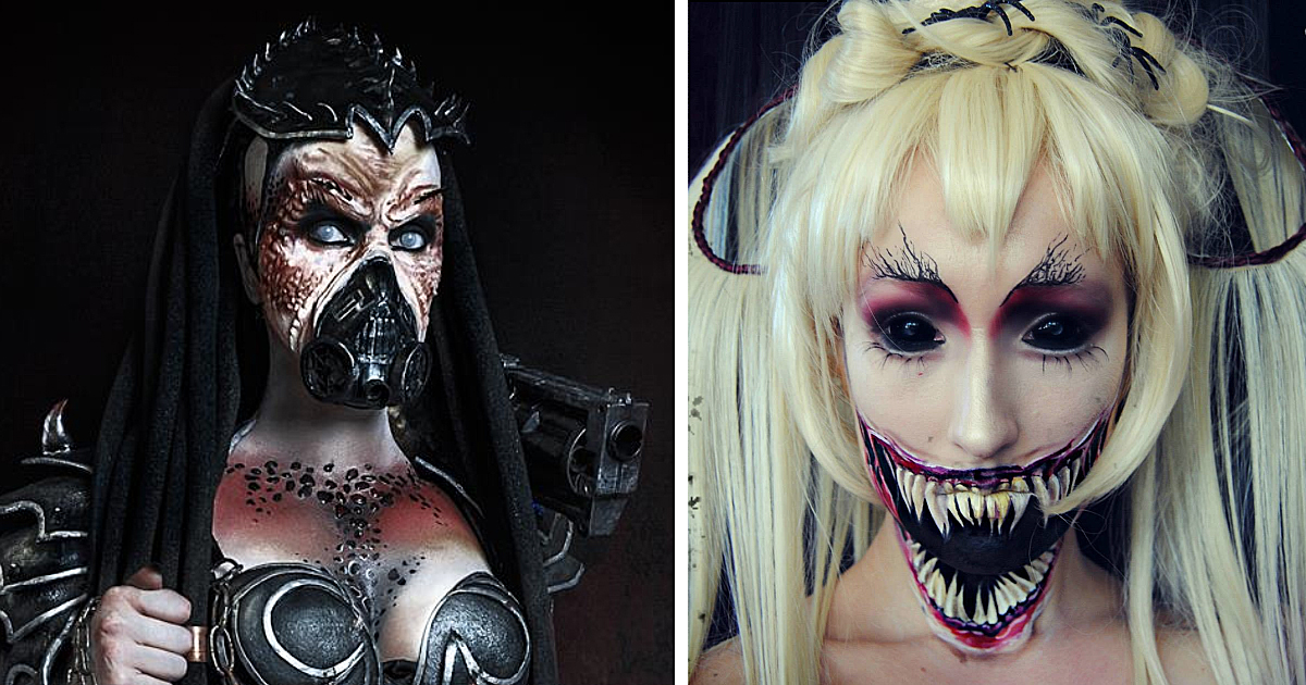 Extreme Make-Up Art Inspired By Dark Fantasy World | Bored Panda