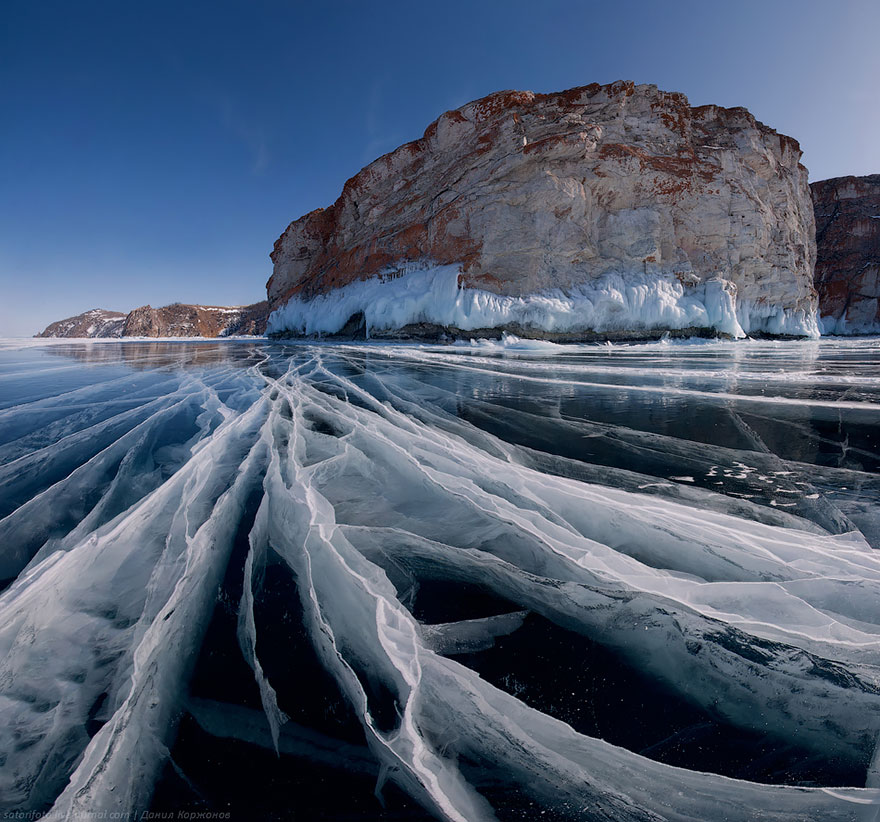 Baikal Lake In Russia