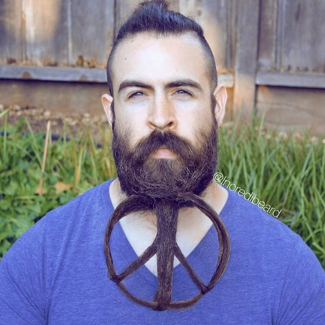 Pleasant Mr Incredibeard Is Back With New Epic Beards Bored Panda Short Hairstyles For Black Women Fulllsitofus