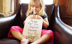 Creative Dad Turns His 3-Year-Old Daughter's Sayings Into Hilarious Illustrations