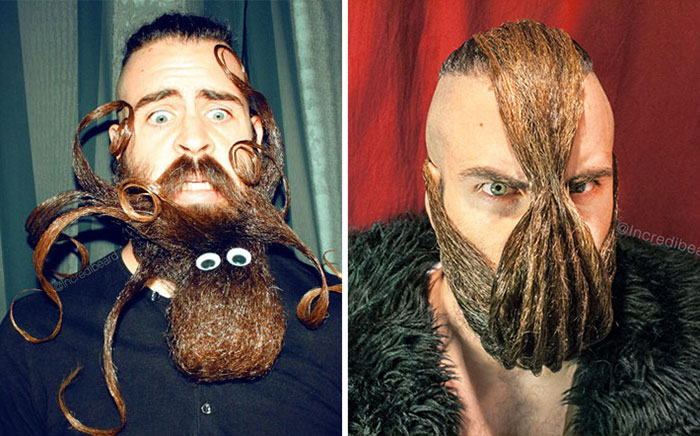Mr. Incredibeard Is Back With New Epic Beards