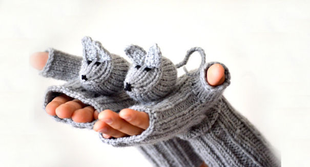 Cute Mice Gloves