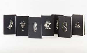 Magical Glow-In-The-Dark Harry Potter Book Cover Redesign By Kincso Nagy