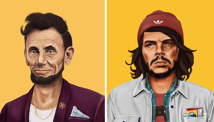 Hipstory: World's Greatest Leaders Reimagined As Hipsters