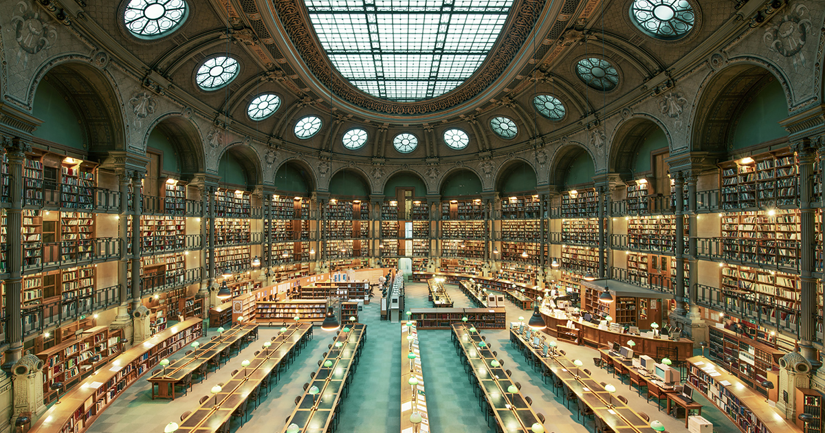House Of Books: Majestic Photos Of Libraries Around The World By Franck  Bohbot | Bored Panda