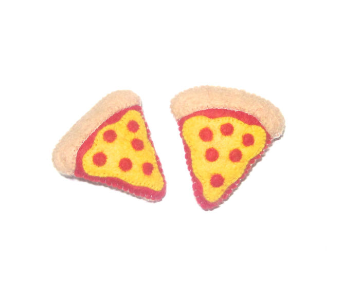 Pizza Party Pins