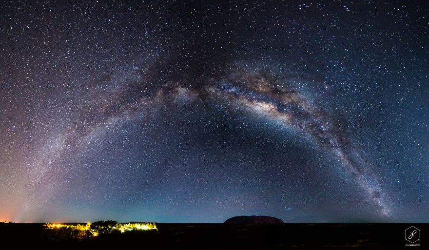 Uluru, Australia, Under The Milky Way
